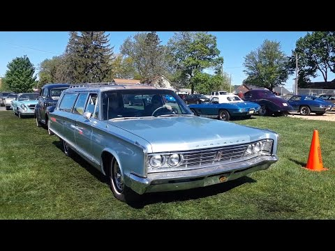 Vagabonds Car Club 2021 Spring Kickoff Show Driving Onto the Field  Video 1