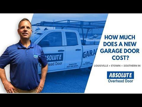 How Much Does A New Replacement Garage Door Cost?   Absolute Overhead Door Service
