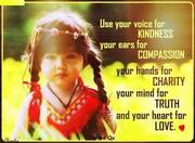 Beautiful words of wisdom