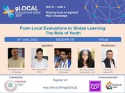 FROM LOCAL EVALUATIONS TO GLOBAL LEARNING: THE ROLE OF YOUTH