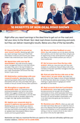 10 Benefits of Non-Deal Roadshows