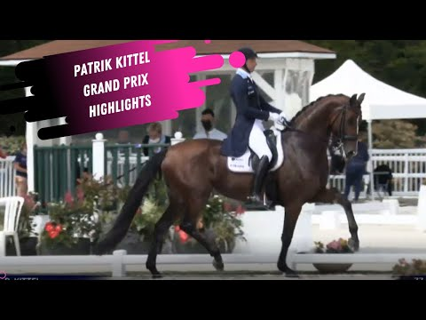 Patrik Kittel Well Done de la Roche CMF- Nations Cup Grand Prix Dressage Highlights