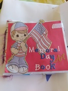 Memorial Day mini junk journal to wright and create in