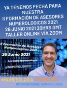 II Formación de Asesores Numerológicos 2021