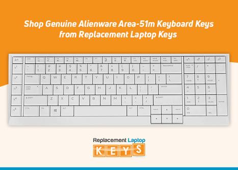 Shop Genuine Alienware Area-51m Keyboard Keys from Replacement Laptop Keys