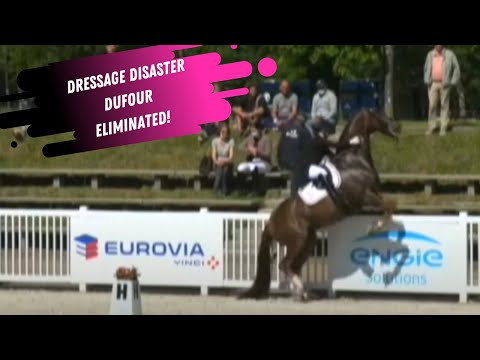 Dressage Disaster: Catherine Dufour Eliminated From Grand Prix Special