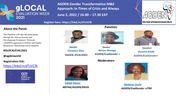 The Africa Gender and Development Evaluators Network's Gender transformative M&E approach