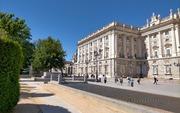 Royal palace façade