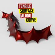 Tensile Surface Along Curve