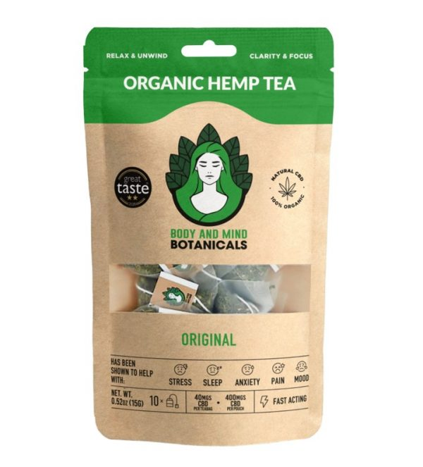 CBD Tea | Bodyandmindbotanicals.com