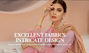 Buy Dress Material Online : Suit Salwar Material at Zaitoon Lifestyle