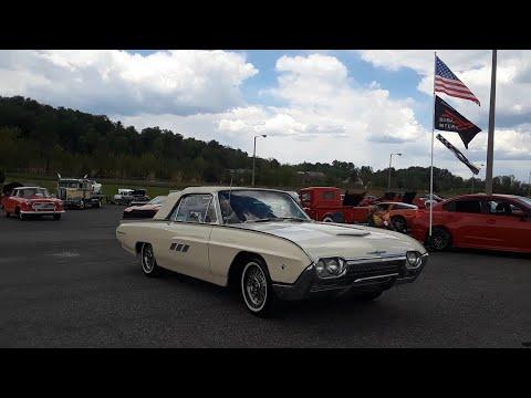 1963 Ford Thunderbird Raising the Top