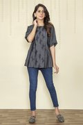 Embroidered Ready To Wear Top - BuyZilla.pk