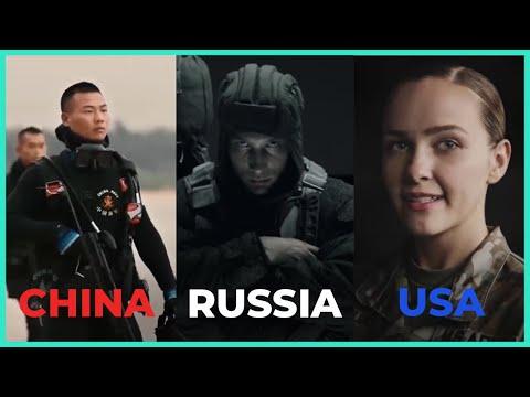 Russian vs China vs U.S. Army Recruitment Ads