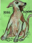 dementia cães fumam charuto