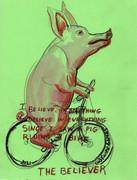 dementia porco bicicleta
