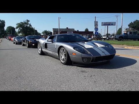 Ford GT, Ford GT40 Arriving At the 2021 Ford Nationals