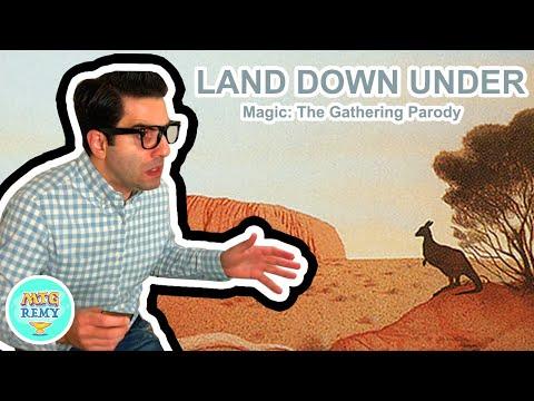 Land Down Under (Magic: The Gathering Parody)