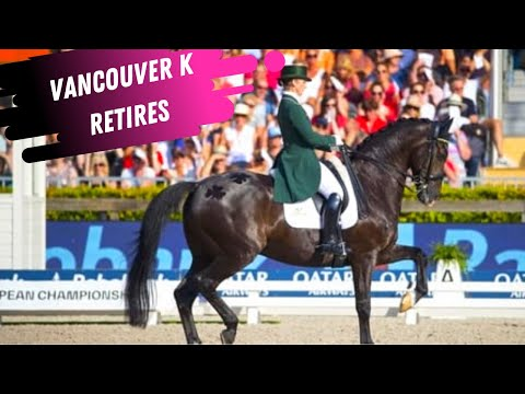 Judy Reynolds Has Retired JP (Vancouver K) From Dressage Competition