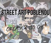 STREET ART POBLENOU + ORXATA  AL TÍO CHE