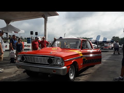 Ford Thunderbolt Drag Car Welcomes Fans To the 2021 Ford Nationals