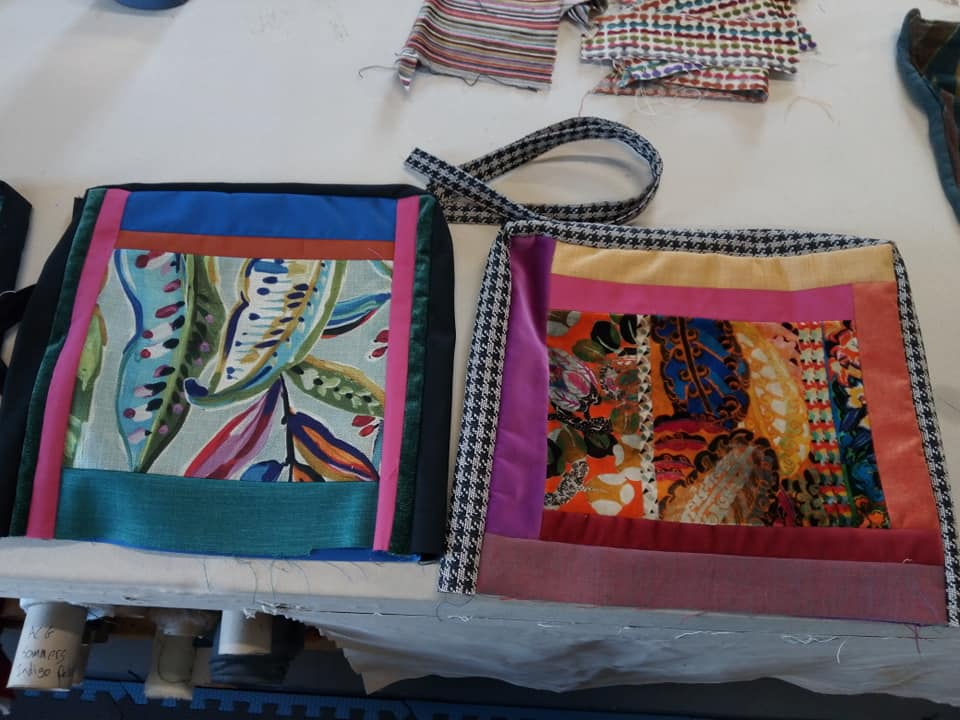 Recycled Fabric Totes