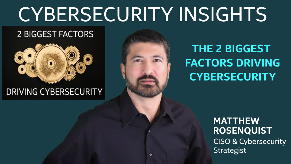 2 Biggest Factors Driving the Future of Cybersecurity