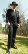 dress suit with little joe hat (2)