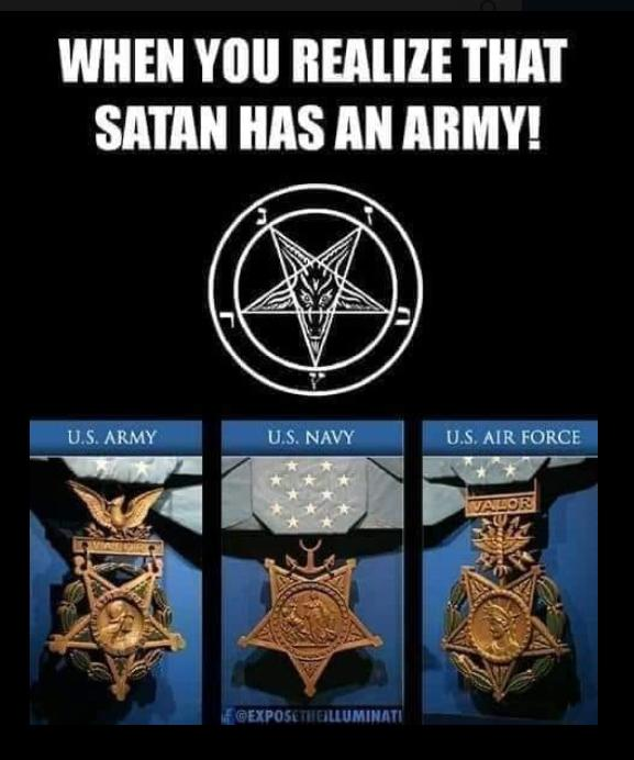 When You Realize that Satanic Jewery Has a Satanistic Goyim Army