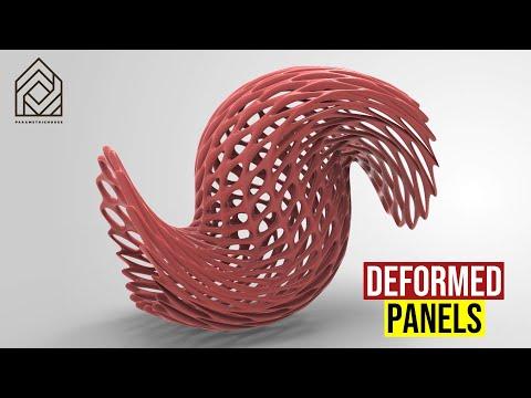 Deformed Panels
