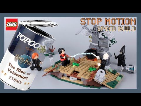 LEGO Harry Potter The Rise of Voldemort 75965 Stop Motion Speed Build Review