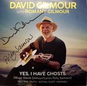 David Gilmour and Polly Samson signed Yes I Have Ghosts CD