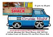 Gus's Crab Shack Cruise Nights, Port Penn, DE