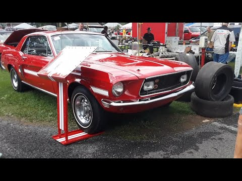 Cars In the Ford Nationals Swap Meet 68 Torino GT Conv,68 Mustang CS,65 Mustang Conv,Shelby Dragster