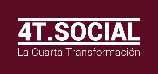 4T.SOCIAL Cuarta Transformación de México Logo