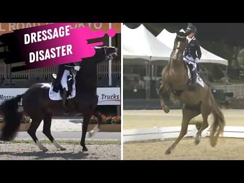 Dressage Disaster: Heartbreak For Howington & Putten At Tokyo Olympic Dressage Trials