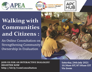 Walking with communities and citizens