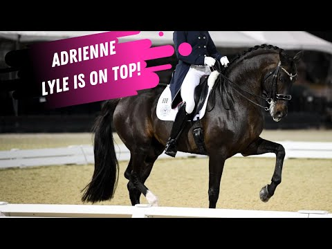 Adrienne Lyle & Salvino Score Second In the World This Week -Grand Prix Dressage Highlights