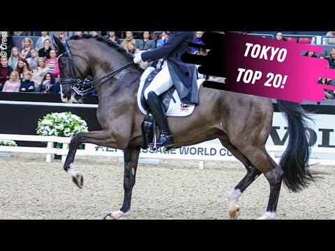 Tokyo Top 20: Benjamin Werndl & Daily Mirror 9 Grand Prix Dressage Highlights