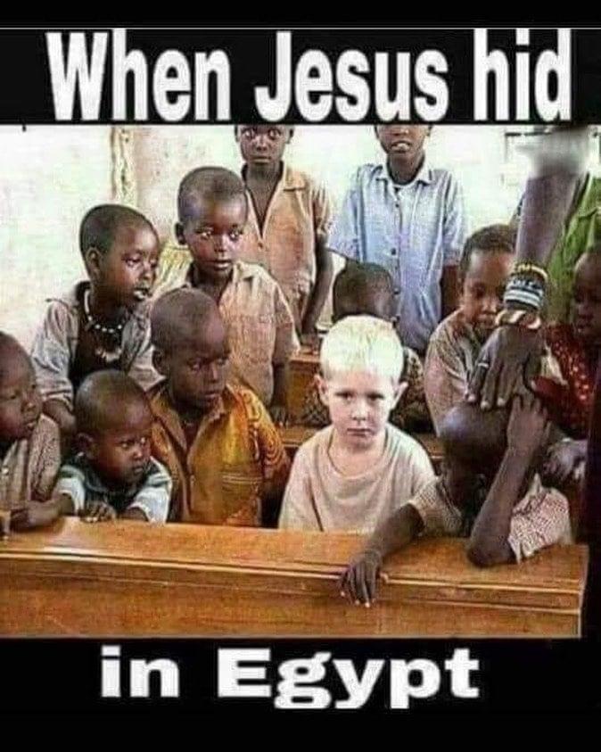 Jesus hid