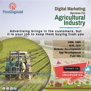Why the  Agriculture Industry Need to Adopting Digital Marketing Services