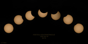 Kollage, solförmörkelse 2021-06-10