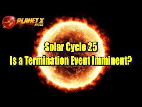 Solar Cycle 25, Is a Termination Event Imminent?