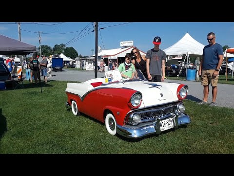 1955 Ford Victoria Downsized!!!! At the 2021 Ford Nationals