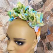 Fressia silk floral hairband
