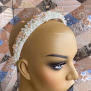 Swarovski pearl halo headband