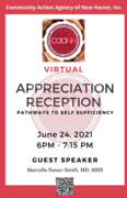 CAANH's Virtual Appreciation Reception