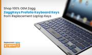 Shop 100% OEM Zagg ZaggKeys Profolio Keyboard Keys from Replacement Laptop Keys