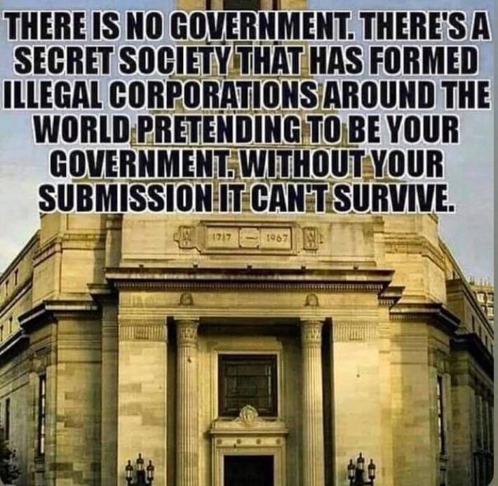 There Are No Governments,Just De Facto Corporations