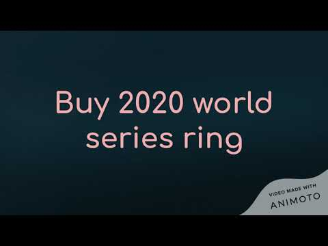 World series rings for sale